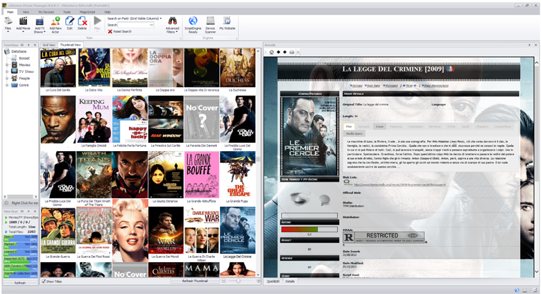 eXtreme Movie Manager free download